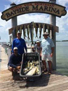 Image of our fishing catch of the day!
