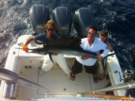Marlin fishing in Islamorada, Florida